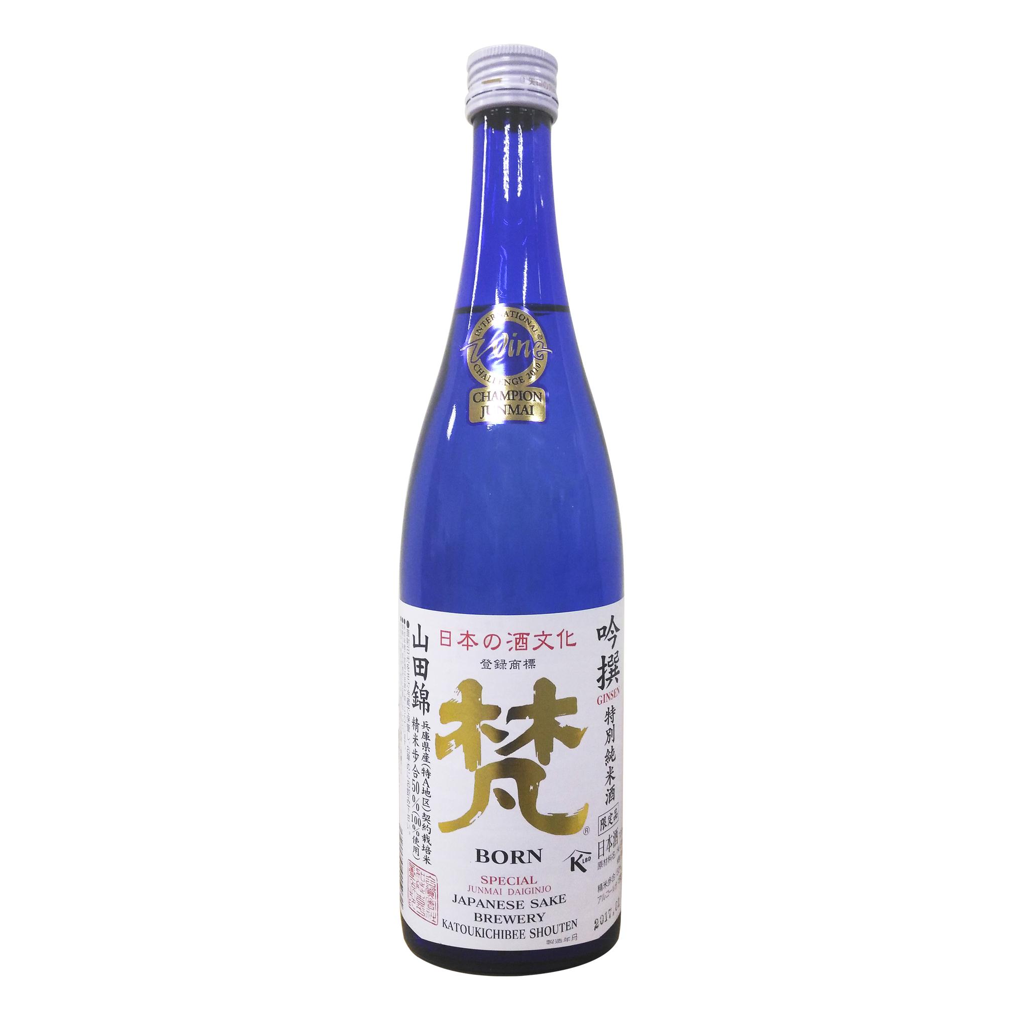 Born Ginsen Junmai Daiginjo 15% 720ml