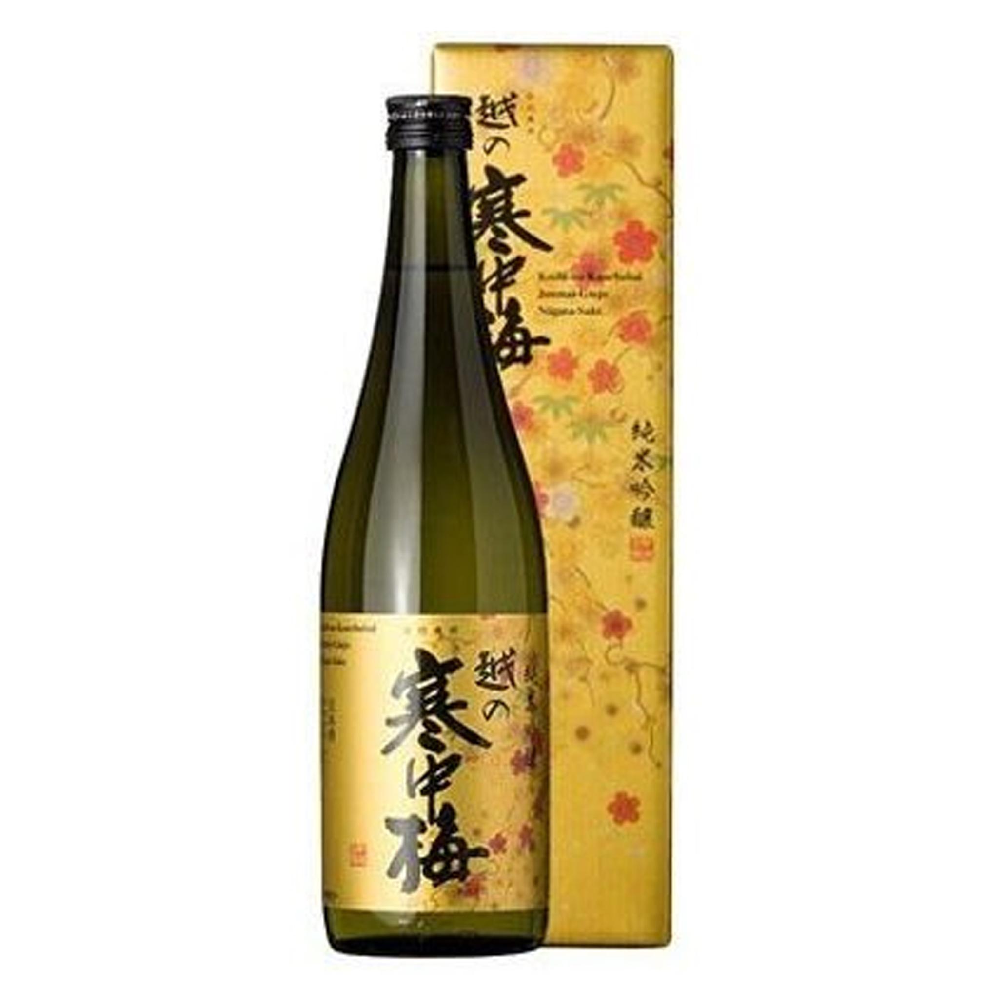 Koshinokanchubai Kin Label Junmai Ginjo 14% 720ml
