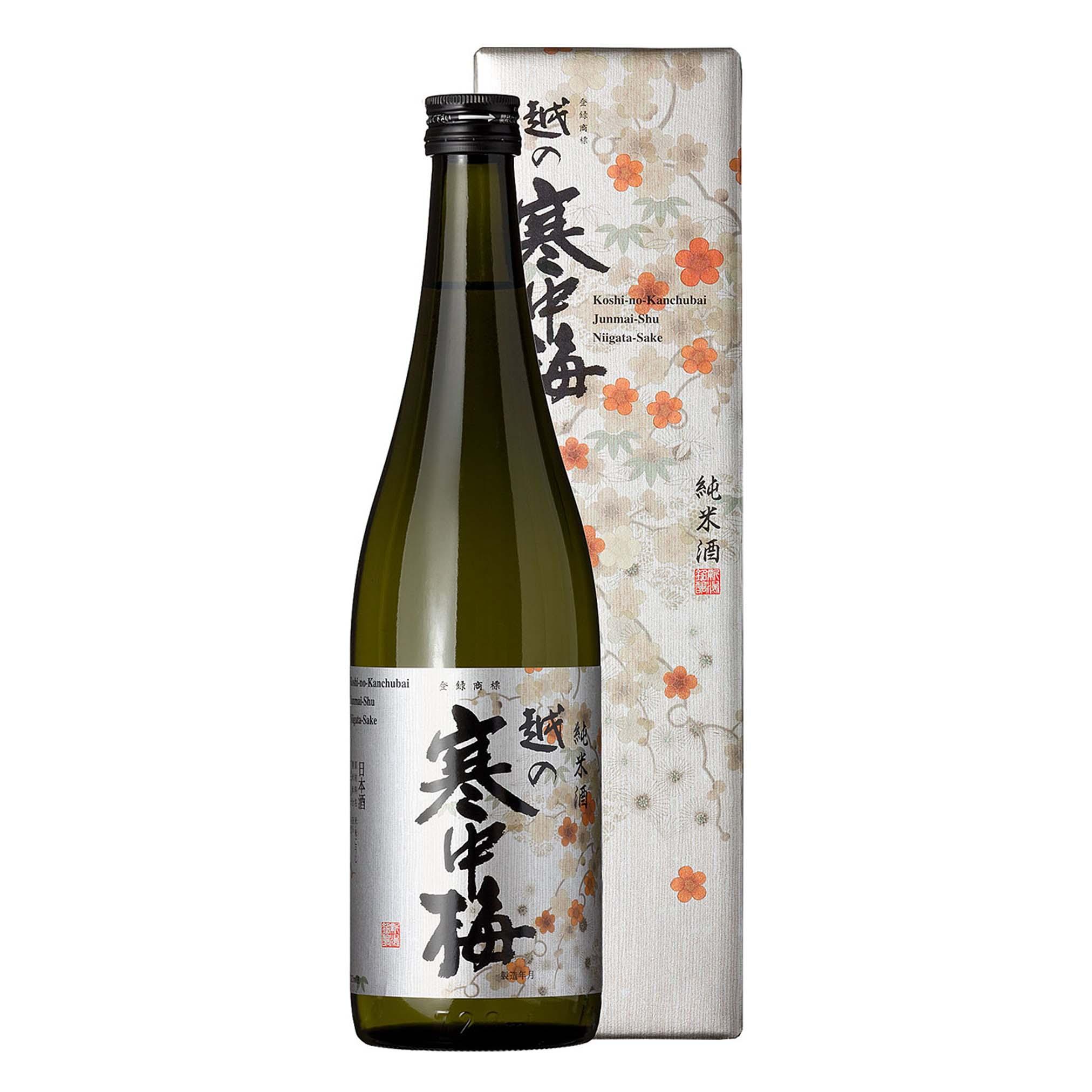 Koshinokanchubai Gin Label Junmai Shu 14% 720ml