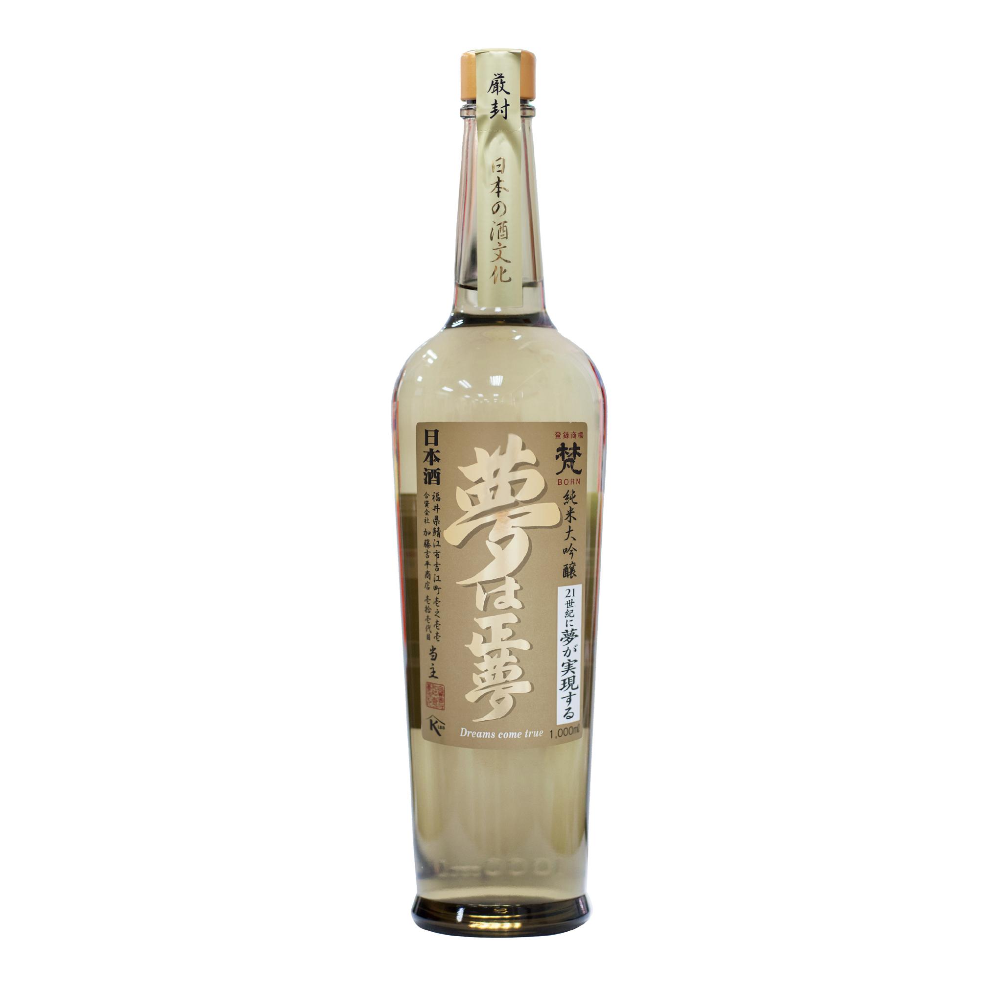 Born Yumehamasayume Junmai Daiginjo 16% 1000ml