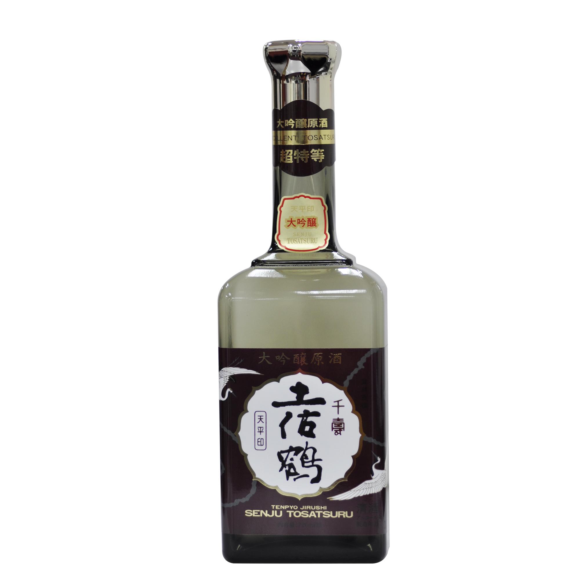 Tosatsuru Daiginjo Genshu Tempyo 17% 720ml