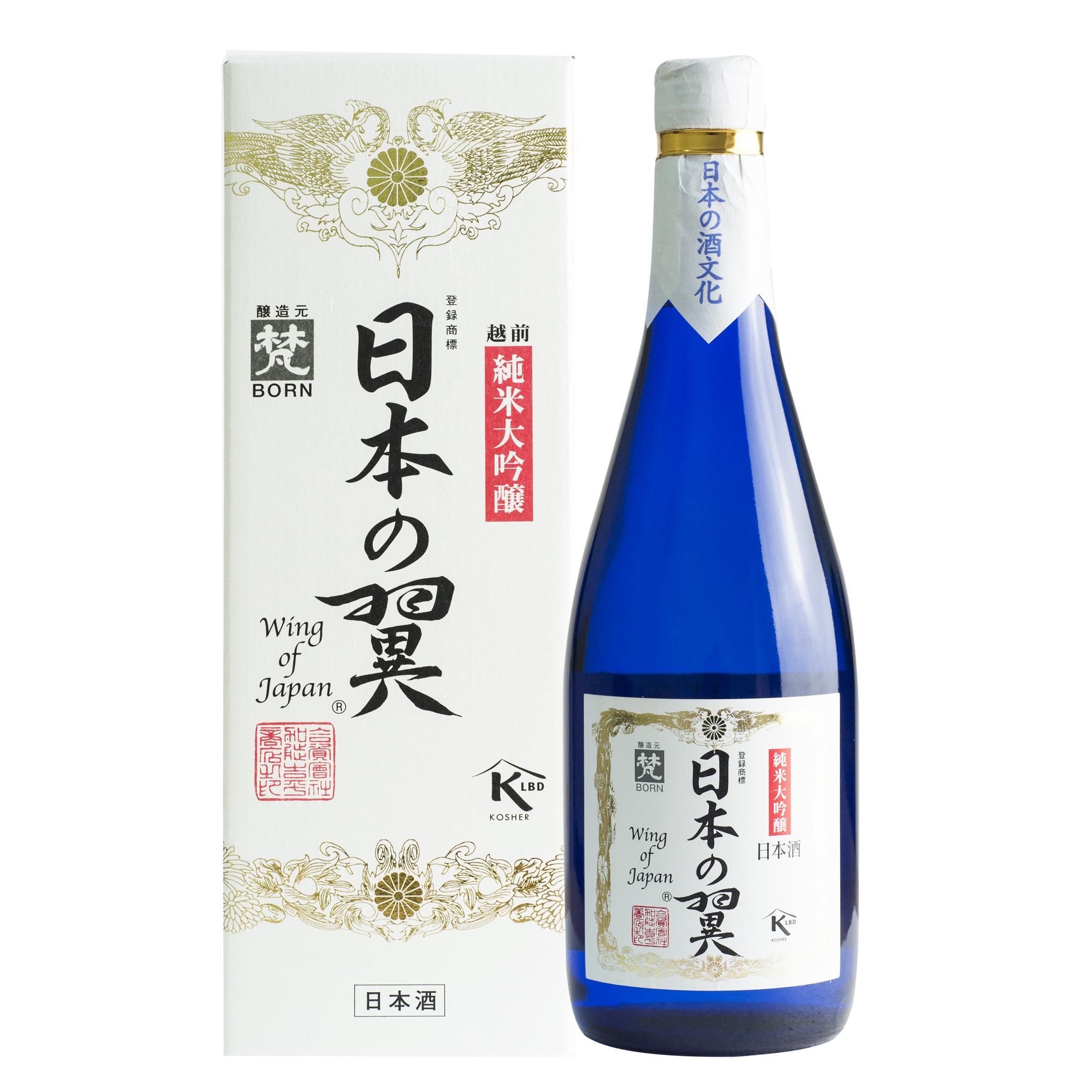 Born Nihonnotsubasa Junmai Daiginjo 16% 720ml