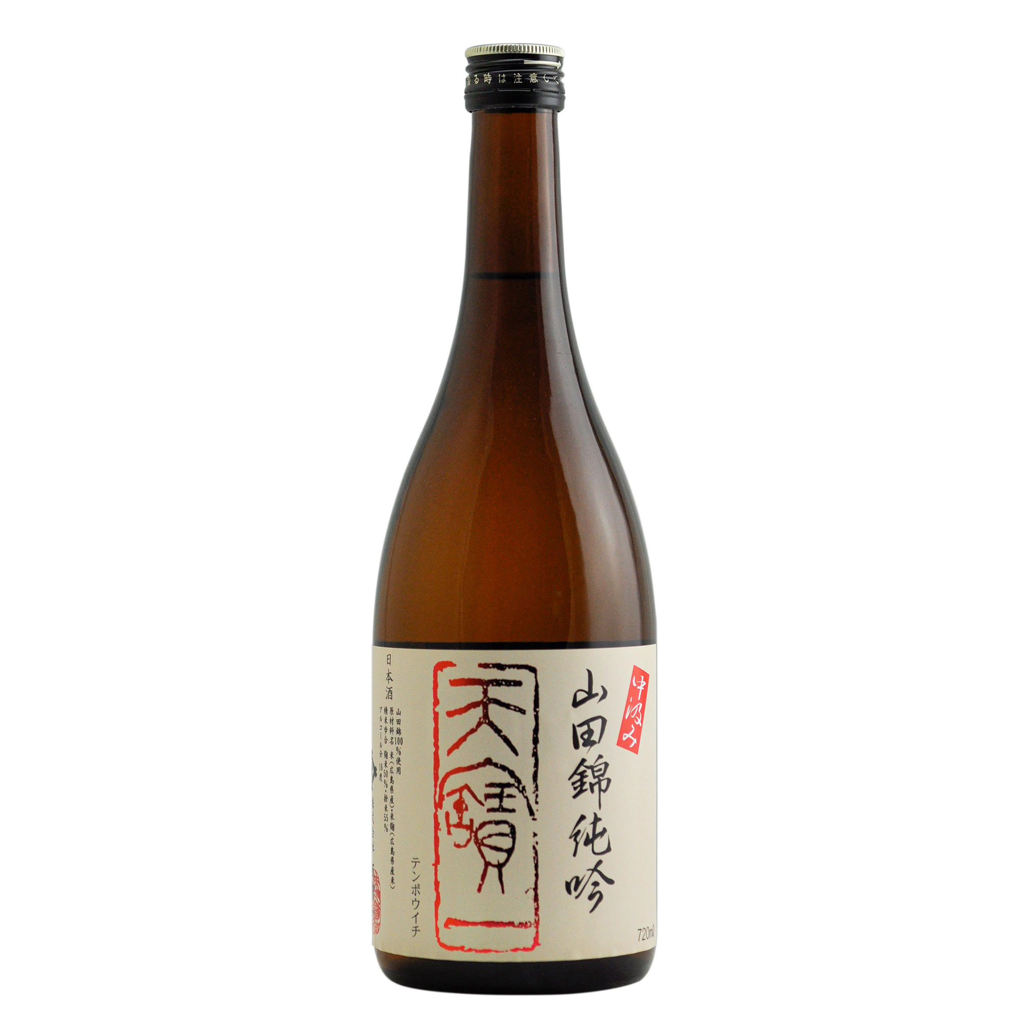 Tempoichi Junmai Ginjo Yamadanishiki Nakagumi 16% 720ml