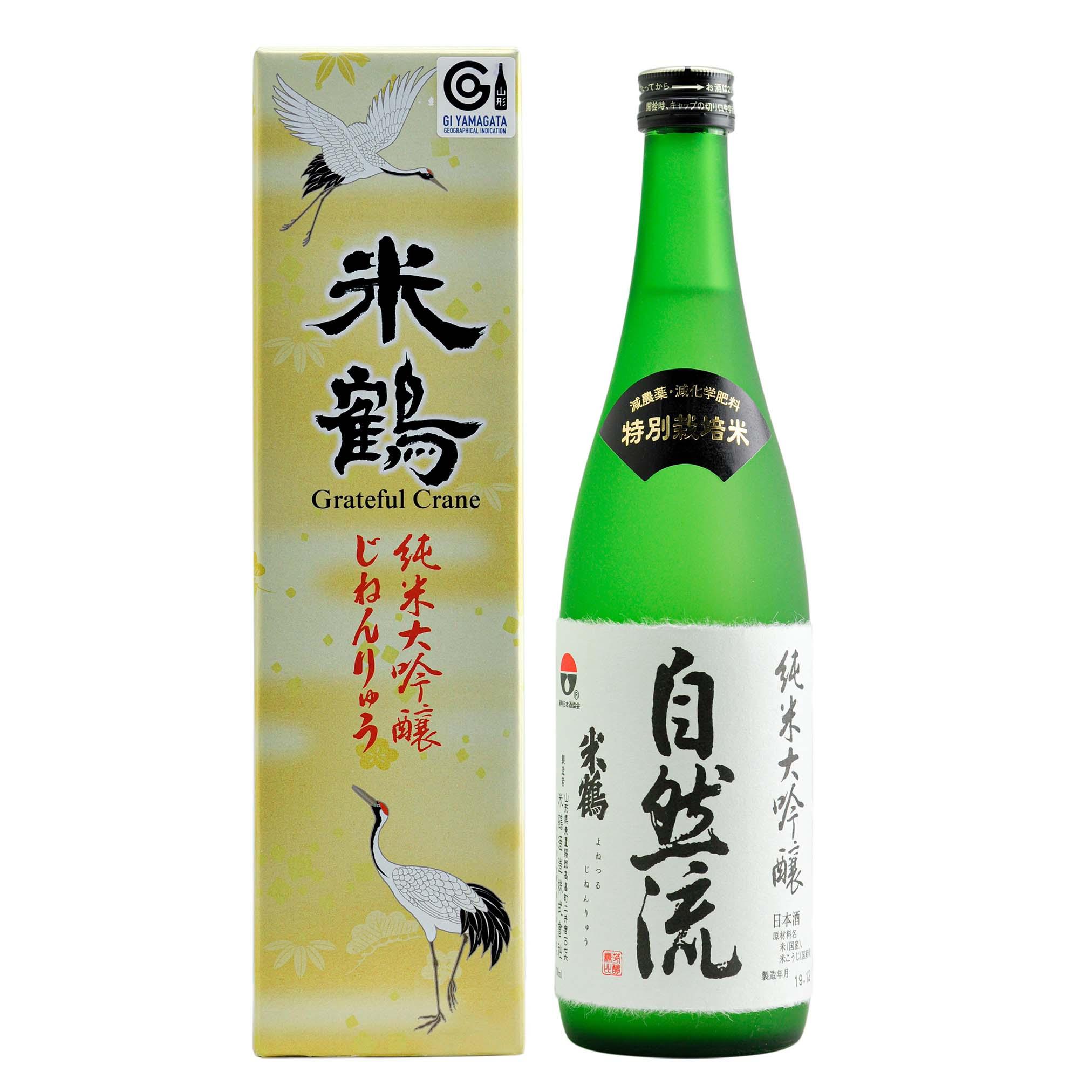 Yonetsuru Junmai Daiginjo Jinenryu 16% 720ml