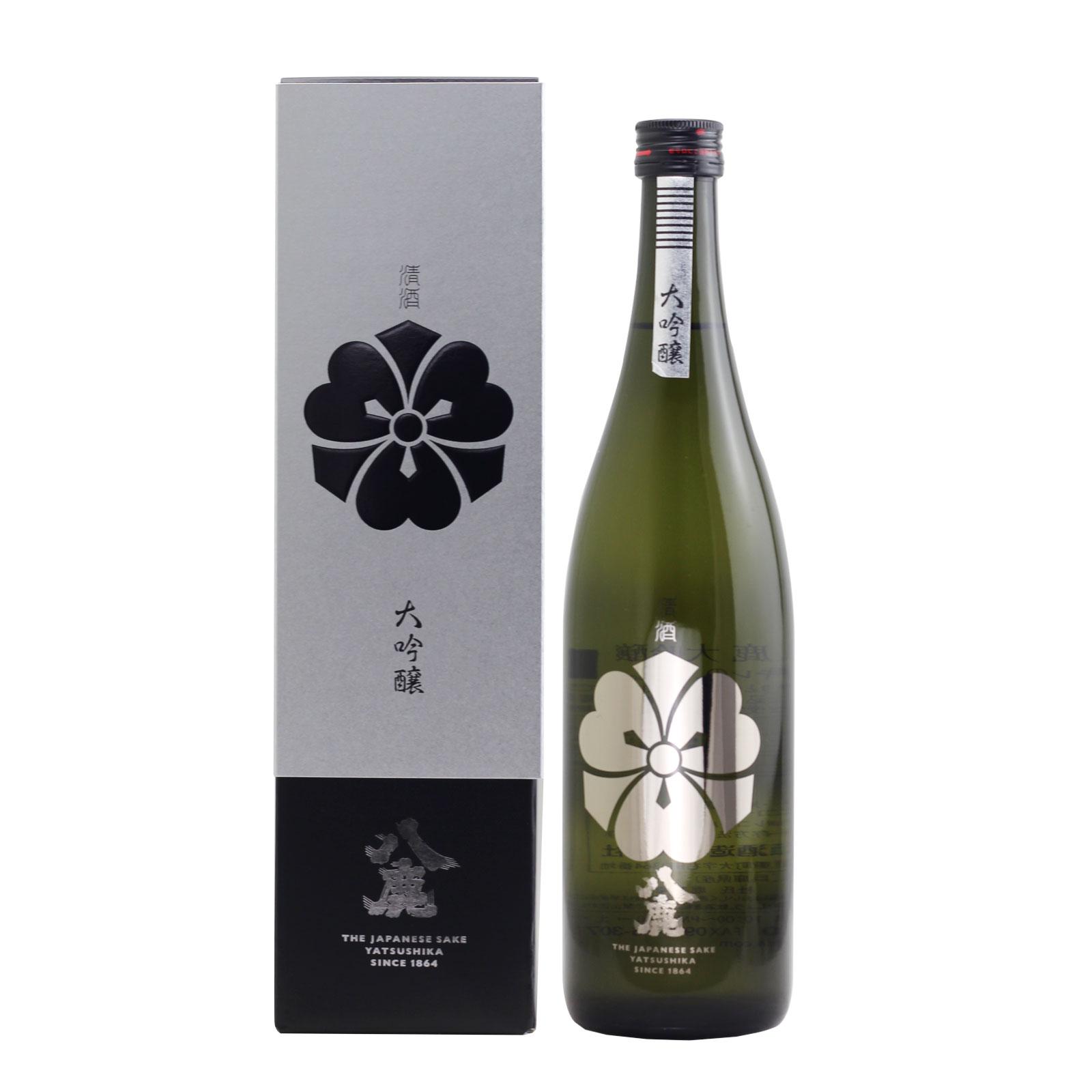 Yatsushika Daiginjo Silver 15% 720ml