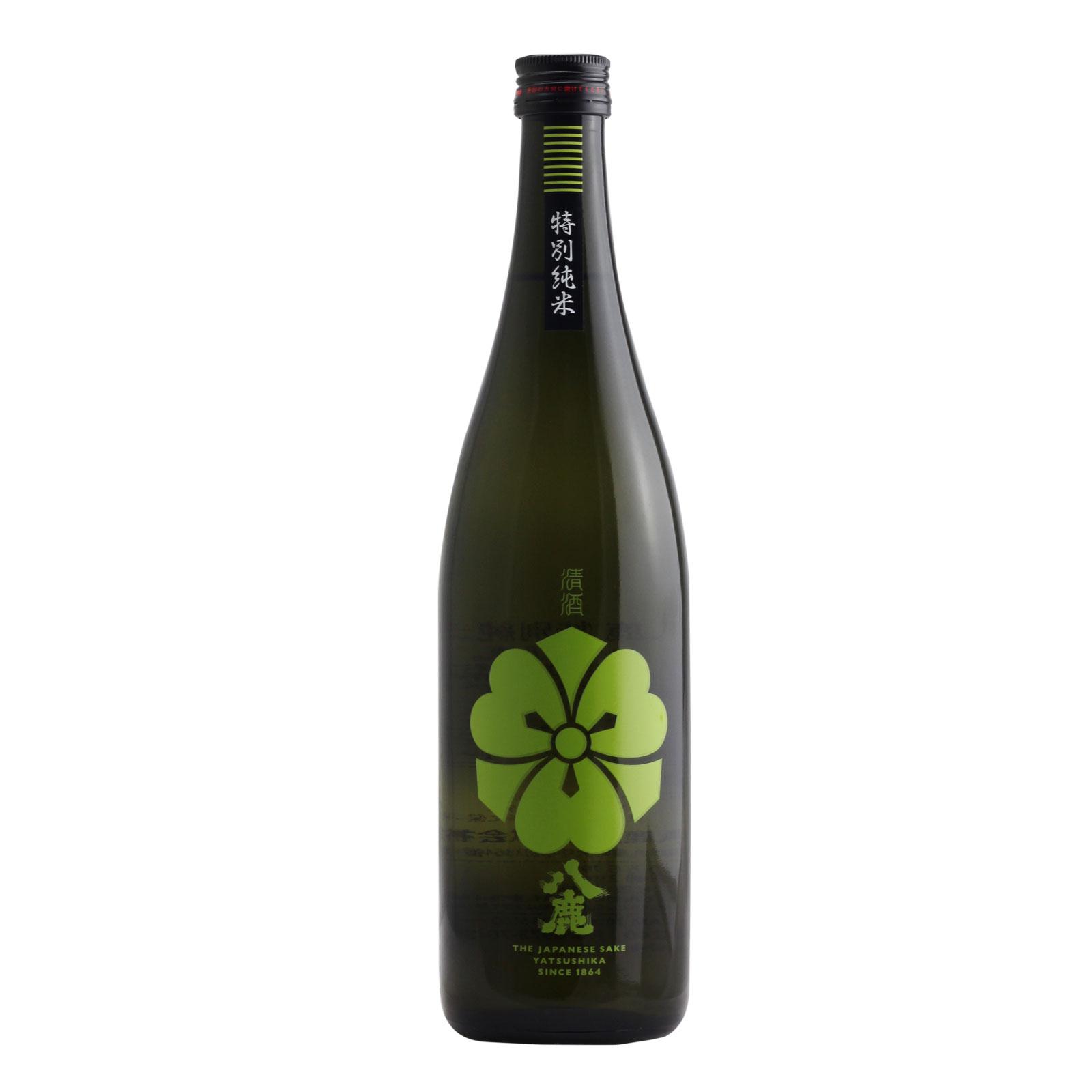 Yatsushika Tokubetsu Junmaishu Green 15% 720ml