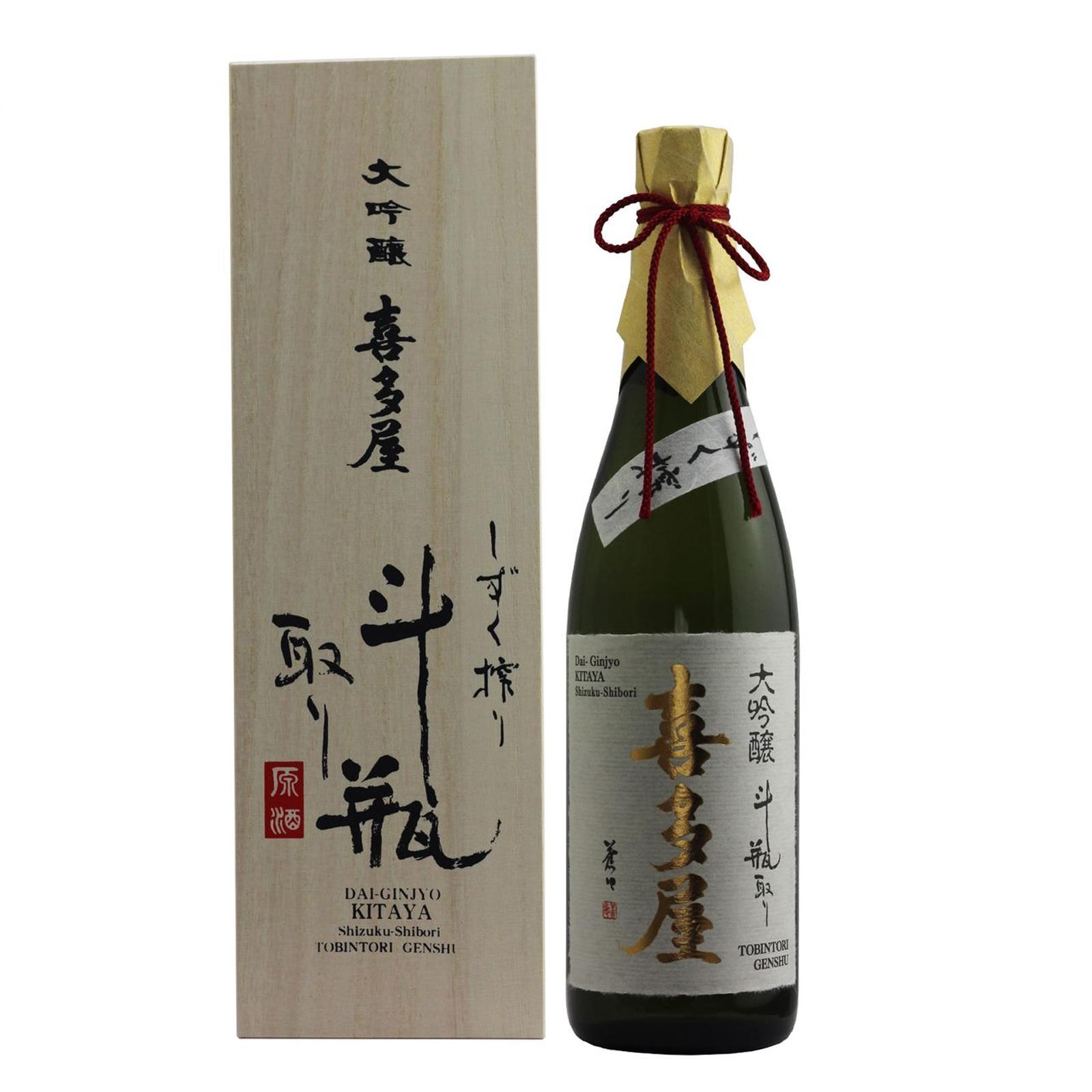 Kitaya Daiginjo Tobin-Dori Genshu Kitaya 17% 720ml