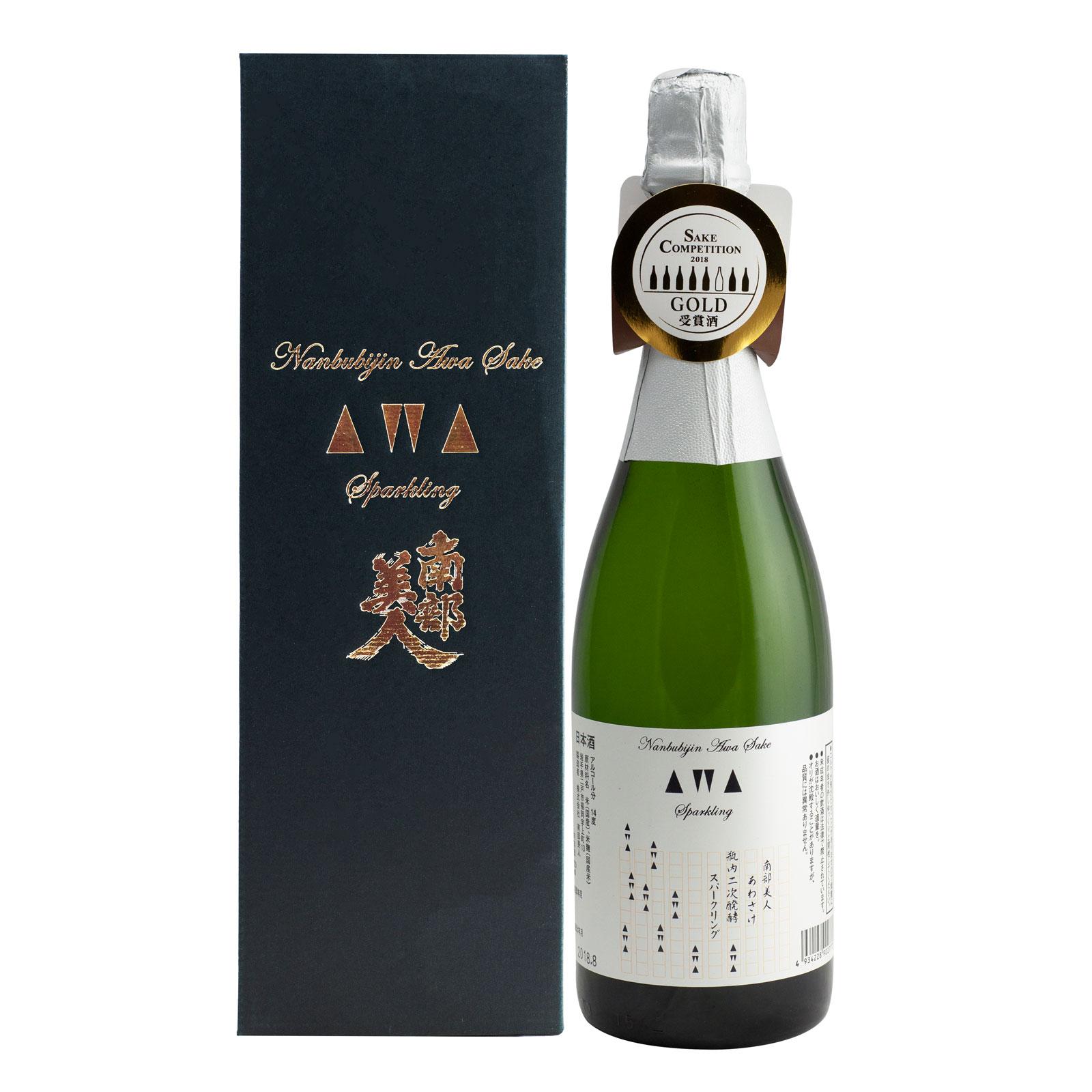 Nanbubijin AWA Sake Sparkling 14% 720ml